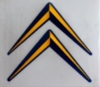 double chevron logo