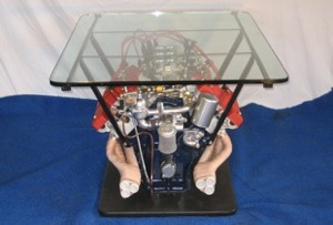 Citroen SM engine table